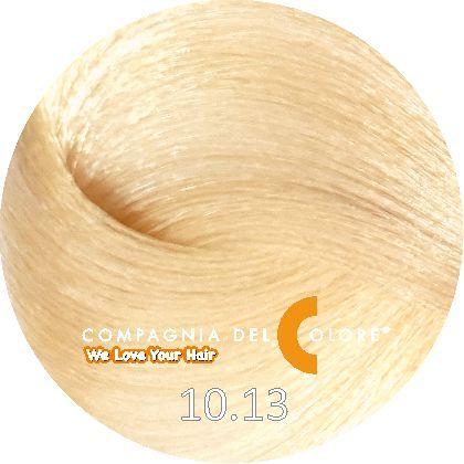 СУПЕРОСВЕТЛЯЮЩАЯ СЕРИЯ 10/13 Натуральный суперсветлый перламутровый блондин 100 мл  (CDC краска Del Color) Compagnia Del Colore
