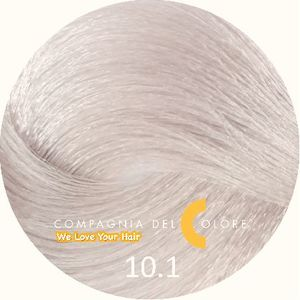Безаммиачный краситель для волос 10/1 св. блондин натур. пеп. 100 мл Compagnia Del Colore (CDC краска Del Color)