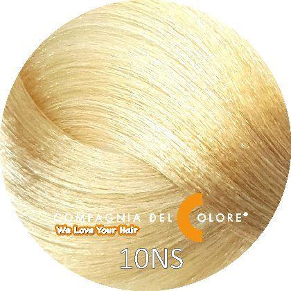 Compagnia Del Colore Стойкий краситель для волос 10 NS Саванна, платиновый блондин 100 мл (CDC краска Del Color)