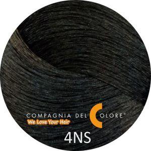 Compagnia Del Colore Стойкий краситель для волос 4 NS Саванна, коричневый 100 мл (CDC краска Del Color)