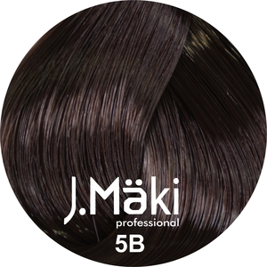 J.Maki Стойкий краситель для волос 5B Какао 60 мл (J.Mäki Professional)