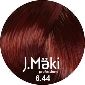 J.Maki Стойкий краситель для волос 6.44 Интенсивный медный темный 60 мл (J.Mäki Professional)