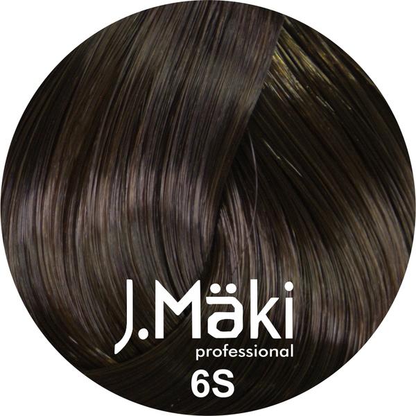 J.Maki Стойкий краситель для волос 6S Песочный темно-русый 60 мл (J.Mäki Professional)