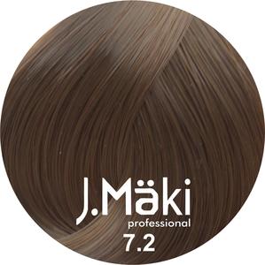 J.Maki Стойкий краситель для волос 7.2 Жемчужный русый 60 мл (J.Mäki Professional)