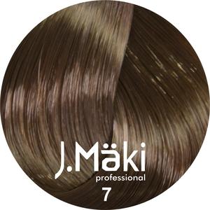 J.Maki Стойкий краситель для волос 7 Русый 60 мл (J.Mäki Professional)
