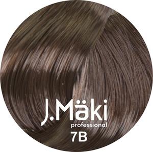 J.Maki Стойкий краситель для волос 7B Капучино 60 мл (J.Mäki Professional)