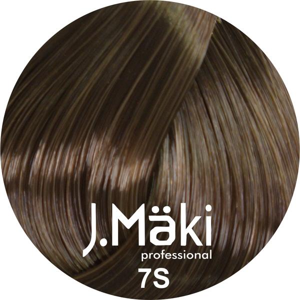 J.Maki Стойкий краситель для волос 7S Песочный русый 60 мл (J.Mäki Professional)