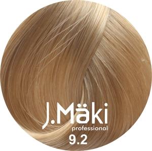 J.Maki Стойкий краситель для волос 9.2 Жемчужный блондин 60 мл (J.Mäki Professional)