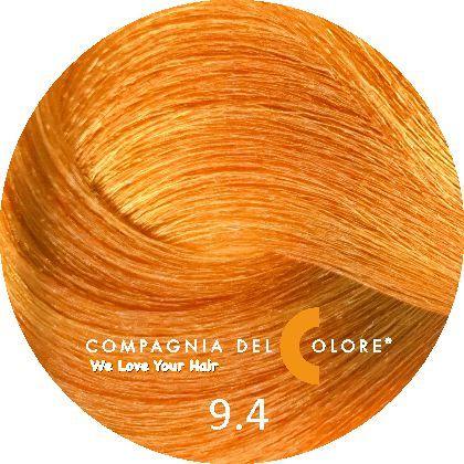 Compagnia Del Colore Стойкий краситель для волос 9/4 Блондин медный 100 мл (CDC краска Del Color)