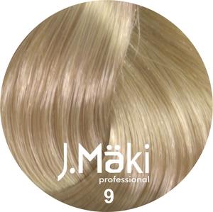 J.Maki Стойкий краситель для волос 9 Блондин 60 мл (J.Mäki professional)