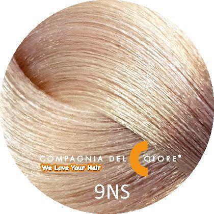 Compagnia Del Colore Стойкий краситель для волос 9 NS Саванна,блондин 100 мл (CDC краска Del Color)