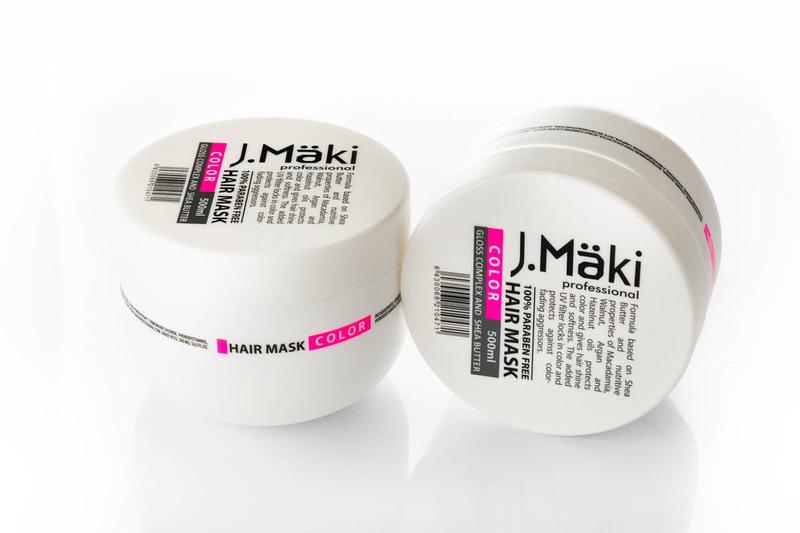 J.Maki Маска для окрашенных волос  500 мл