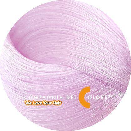 Тонер для волос СИРЕНЕВЫЙ (LILAC) 100 мл (CDC краска Del Color) Compagnia Del Colore