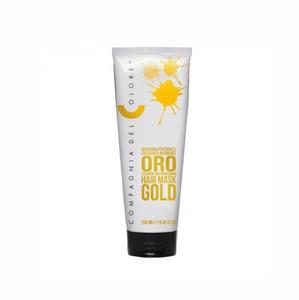 Маска цветная  GOLD 250 мл (CDC Цветная маска Del Color) Compagnia Del Colore