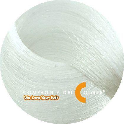 Тонер для волос СЕРЕБРЯНЫЙ 100 мл (CDC краска Del Color) Compagnia Del Colore