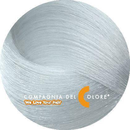 Compagnia Del Colore Стойкий краситель для волос СВЕТЛО-СЕРЫЙ 100 мл (CDC краска Del Color)